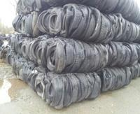 Shredded rubber tires