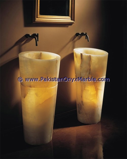 Best Quality Pure Natural Professional Factory BACKLIT ONYX BATHROOM VANITYTOPS & SINKS