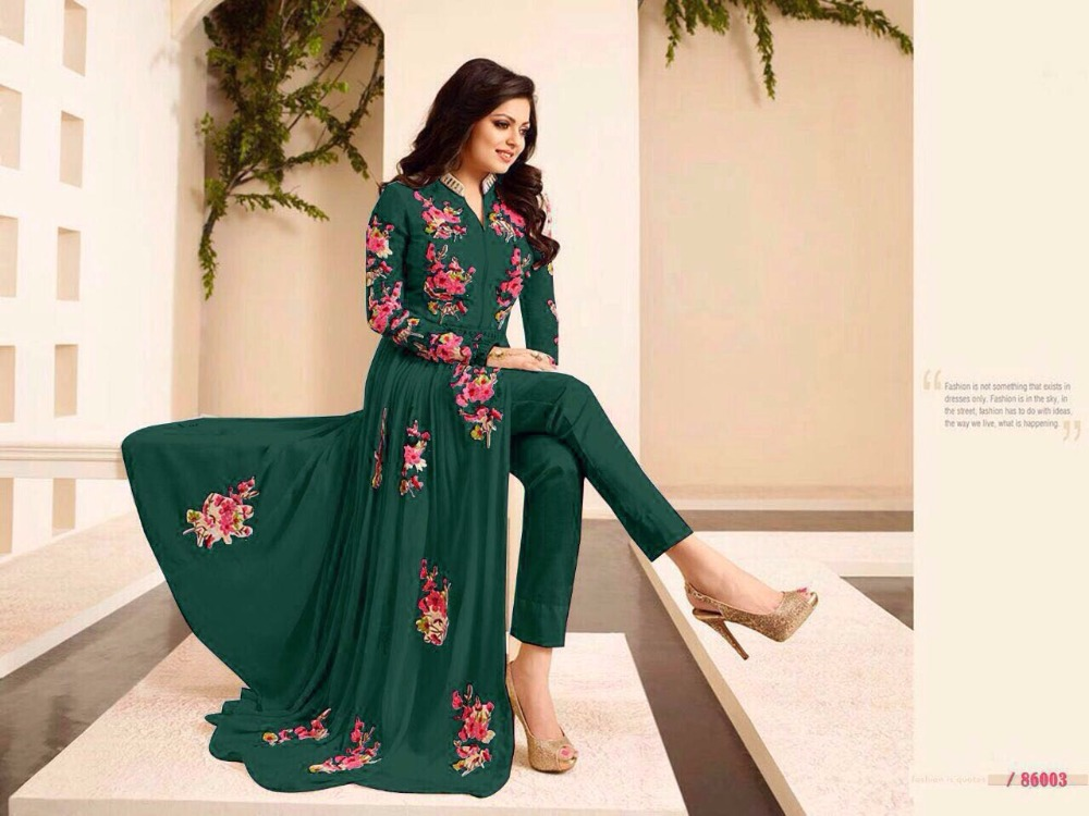 Ethnic Bollywood Designer Partywear Salwar Kameez Salwar Kameez Bollywood Designer Indian Traditional Wedding dress