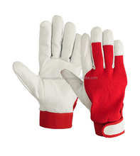 Custom Leather Craft Mechanics Gloves