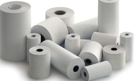 "3"" x 150' 1-Ply Bond Paper/thermal paper roll/Thermal Receipt Paper Rolls"