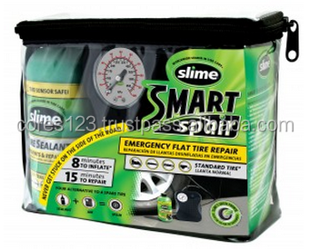 [ SLIME Smart Spair ] Easy to use tire repair kit ,also Sample available