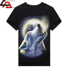 2015 New Unisex High Quality Sublimation lion T-shirts Polyester fabric for sublimation printing Sublimation T-shirts paper