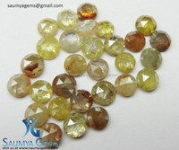 100% Natural Old Rose Cut Icy Natural Fancy Color Loose Diamonds at Bottom Price From Direct Manufacturer in india.