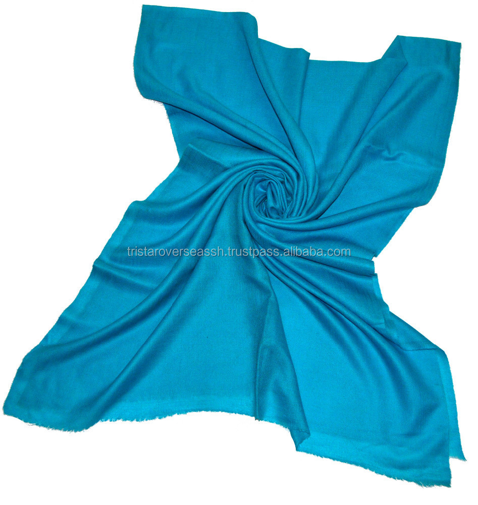 Low Price Natural Cashmere Scarves, plain big indian cashmere scarf , 100% cashmere scarves in diamond weave in custom colours