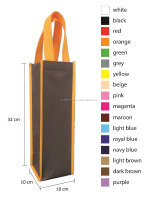 01G013 Wine Non Woven Bag ( promotional gift, corporate gift, premium gift, souvenir )