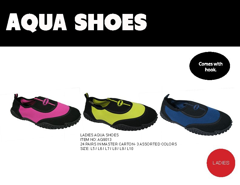 LADIES AQUA SHOES #AG9013