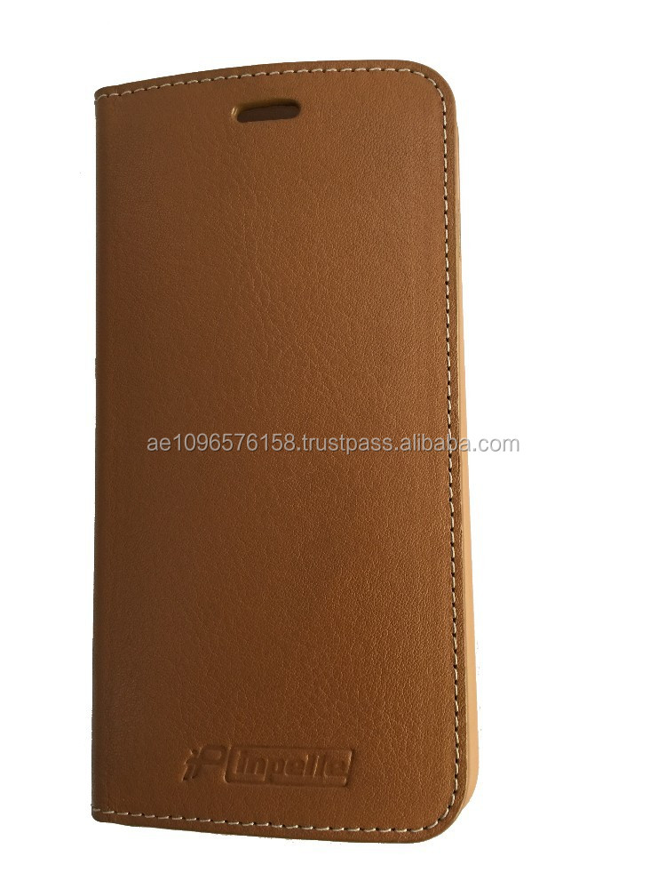 inpelle -Genuine Leather Flip Mobile Case for 6plus