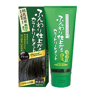 RISHIRI Kelp Japan Hair Color Treatment Black Coloring and Hair Conditioning Made in Japan