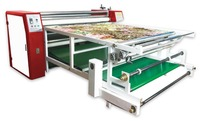 large format Pneumatic Roll Flatbed YT1742 heat transfer machine roll fabric pneumatic transfer heat press