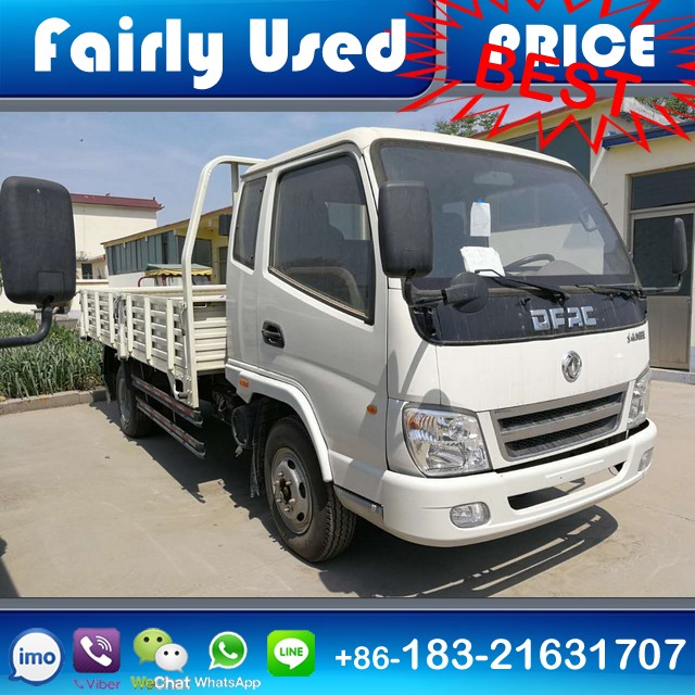 Used Small Lorry Truck Dongfeng 4x2 Cargo Truck 3.5-8 ton Capacity