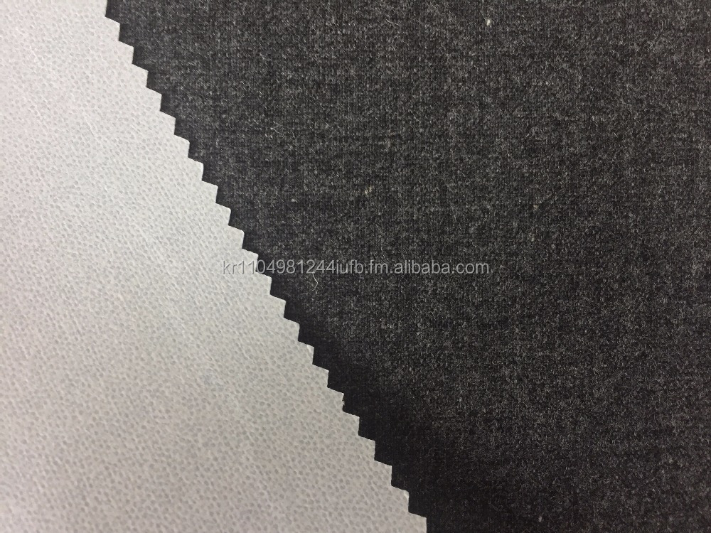 Wool fabric, Laminated with TPU membrane for Outdoor Clothing
