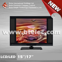 Black 17 inch used hotel tv lcd tv screen panel