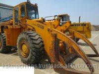 Factory directly sale CE certifaicated good quality used tractor wheel front loader TCM125B
