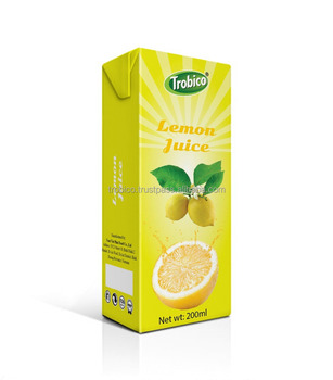 200ml NFC Lemon Fruit Drink-Paper Box