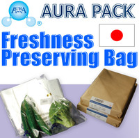 High quality vegetable shopping trolley bag with anti fog effect made in Japan