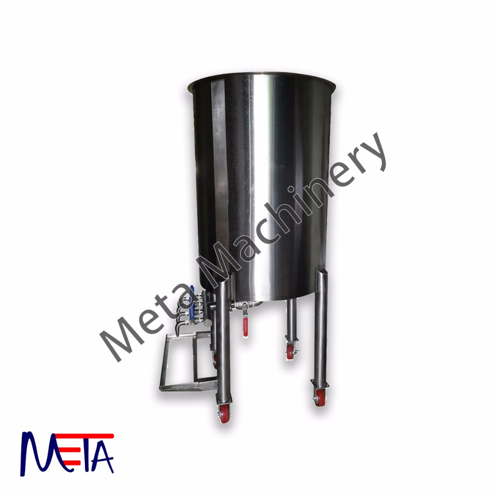 Liquid Storage Tank with Filling Nozzle, Liquid Filling Tank Malaysia, Manual Filling Tank