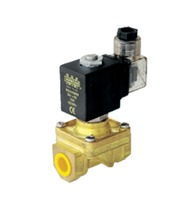 Solenoid valves for industrial media