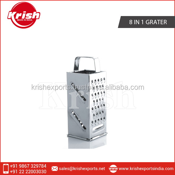 Stainless Steel 8 in 1 Grater at Lowest Market Price from Best Selling Company