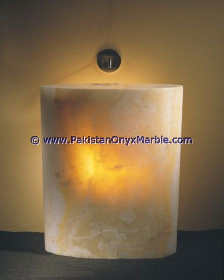 GOOD QUALITY WHOLESALE BACKLIT ONYX PEDESTALS SINKS