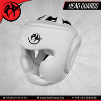 Boxing Head Guard Cow Hide Leather Head Guard Helmet Boxing MMA Martial Arts Gear Protector Kick Training UFC