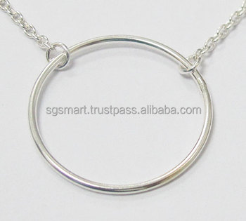 Customer Silver 925 Necklace Pendant Jewelry Design Wholesale Factory in Thailand