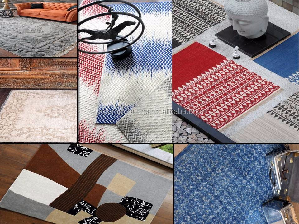 Cheap cut pile cotton carpets with latexed back