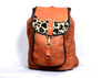Genuine Goat Leather handmade Shoulder bag Vintage Style
