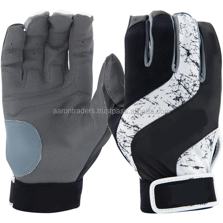 HIGH QUALITY LEATHER BASEBALL BATTING GLOVES 786