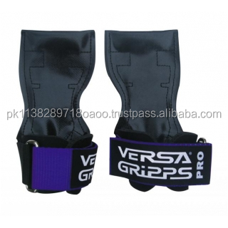 Weight lifting leather grip pad