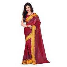 Designer saree Traditional Blended Cotton Saree