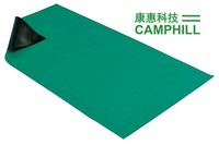 Clean Room Antistatic Green Floor Mat/ ESD Rubber Mat/ Conductive Rubber Table Mat Thickness 2mm