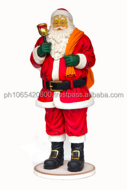 Santa with bag and Bell ID: JA