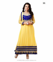 Designer Bollywood Anarkali Suit Replica