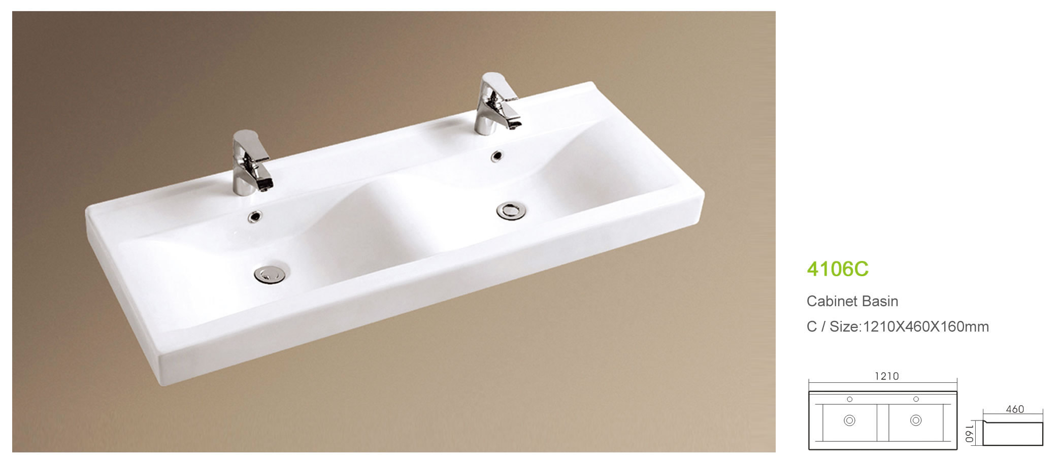 Chaozhou rectangle cabinet double sink bathroom vanity, View bathroom ...