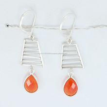 modern long drop earrings / Drop earrings / Stick earrings,Sterling Silver Earring handmade Jewelry & Fine Silver Jewellery