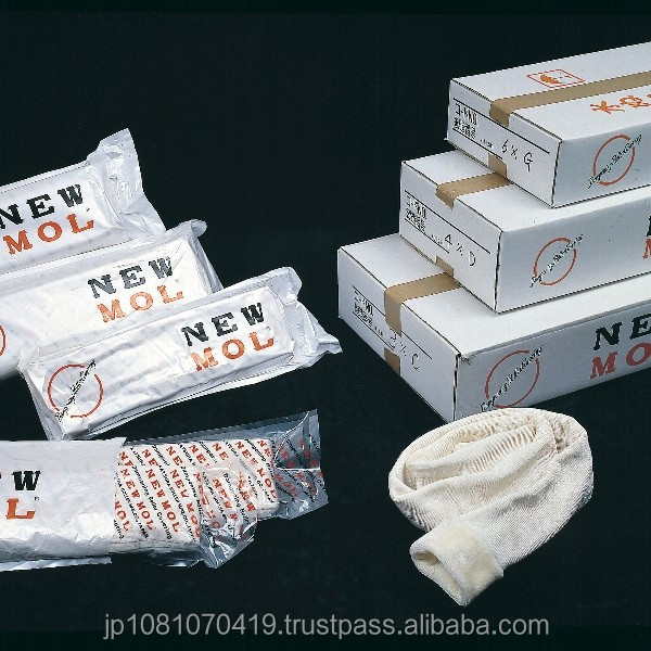 NEW MOL , KNITTING FABRICS FOR DAMPENING ROLLER DAMPER COVERS COO : JAPAN