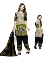 patiyala with batik print style for cotton dress material