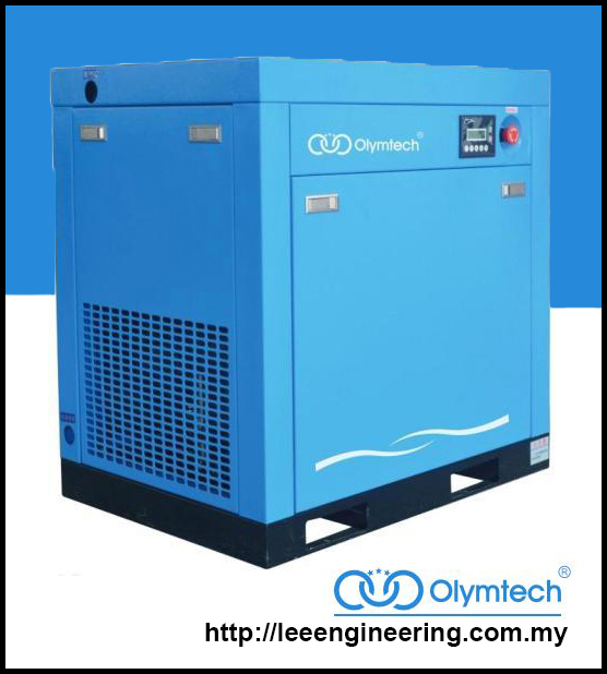 Olymtech OV7.5 10HP Inverter Screw Air Compressor