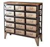 INDUSTRIAL COMMERCIAL STORAGE CABINET WITH MANY DRAWERS , METAL CABINET WITH DRAWERS