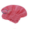Fast dry microfiber hair turban design