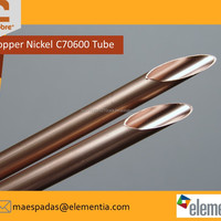 High Quality Copper Nickel CuNi Condenser