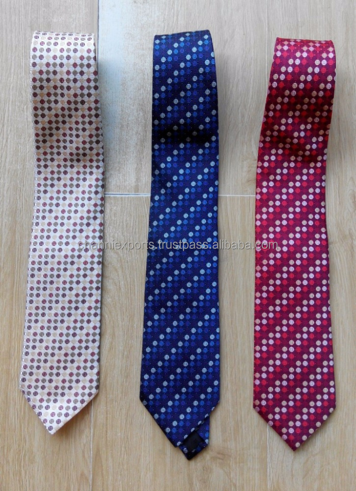100 Percent Pure Silk formal neck ties for men