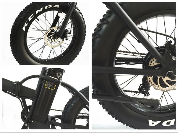 Fat electric bike, electric big tire ebike factory