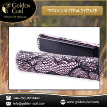 Branded Quality Titanium Plate Hair Straightener for Any Type of Hair