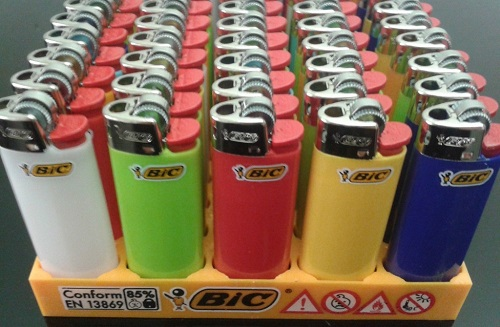 Disposable Big Bic Lighters J5 /J6 /J23 /J25/J26 Maxi /Medium and Mini
