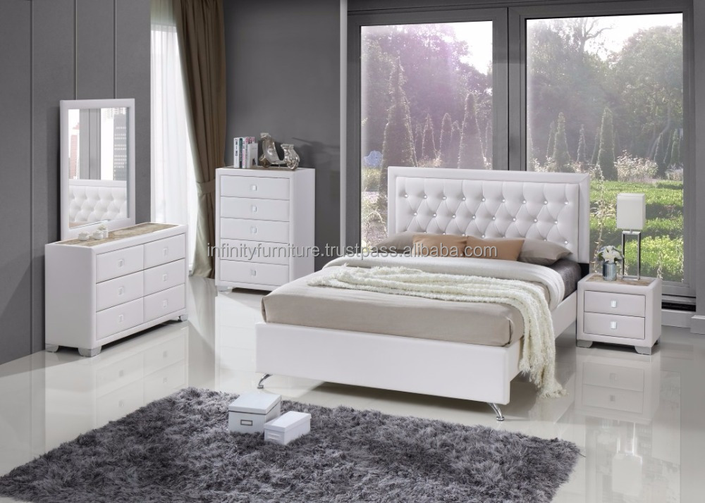 2017 NEW DESIGN WHOLESALE BEDROOM SET