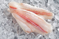 basa fillet semi-trimmed fish [ pink ]