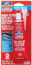 26C HIGH TEMP RED RTV SILICONE GASKET MAKER 11OZ