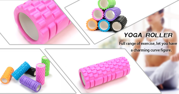 Manufacturing Provide Eco Friendly Grid EVA Yoga Foam Roller